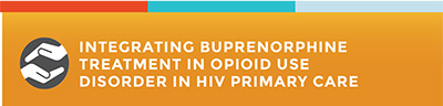 Integrating Buprenorphine Treatment in Opioid Use Disorder in HIV Primary Care.