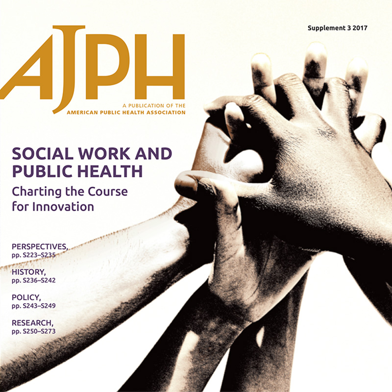 American Journal of Public Health: Social Work and Public Health.
