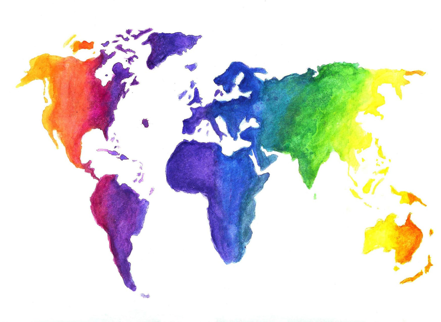 Rainbow World Map Center For Advancing Health Policy And Practice
